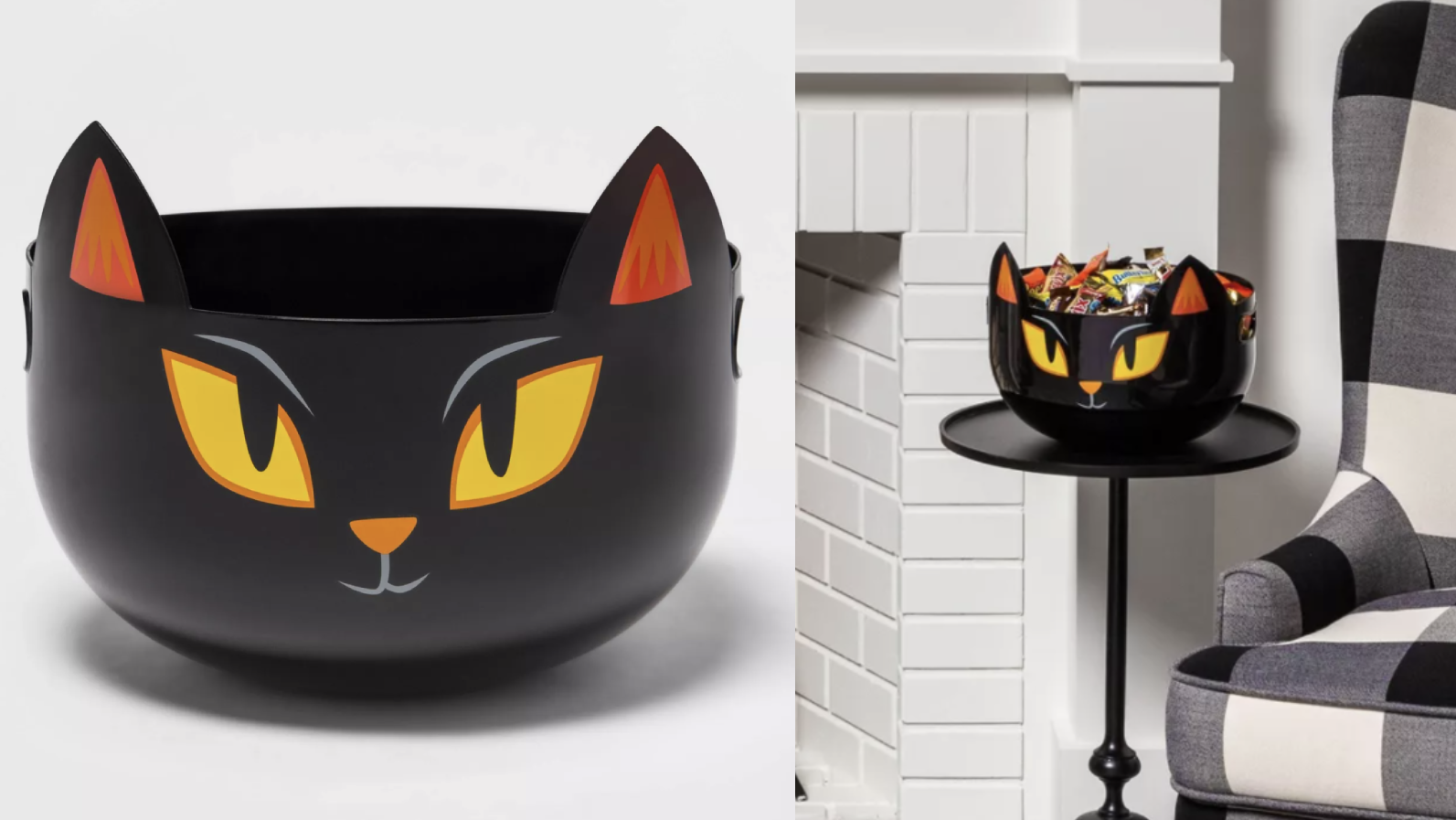 What a purr-fect treat holder.