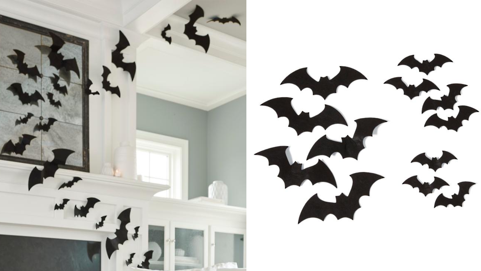 Arrange these flying frights however you'd like throughout your house.