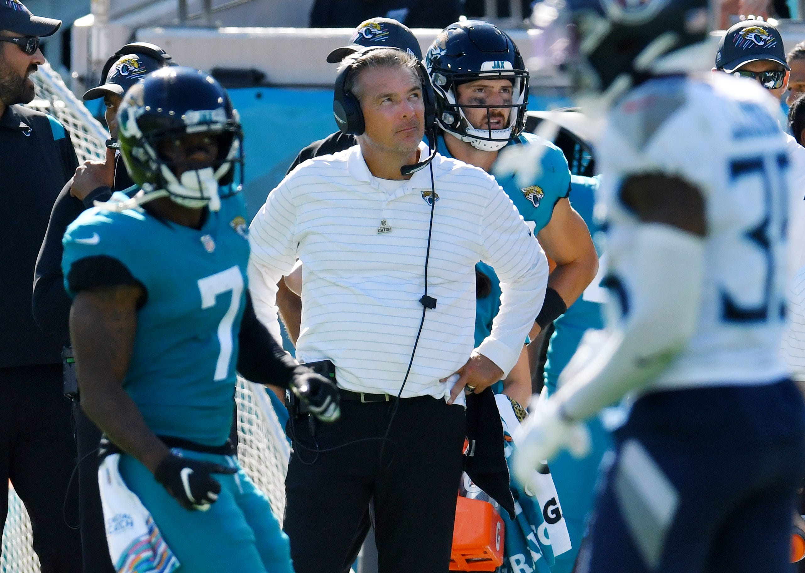 NFL Week 5 winners and losers: Urban Meyer showing Jaguars job is too big for him. Chargers trending up.