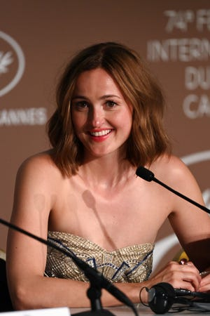"""Renate Rensve broke up at a press conference in Cannes, France, """"the worst person in the world."""""""