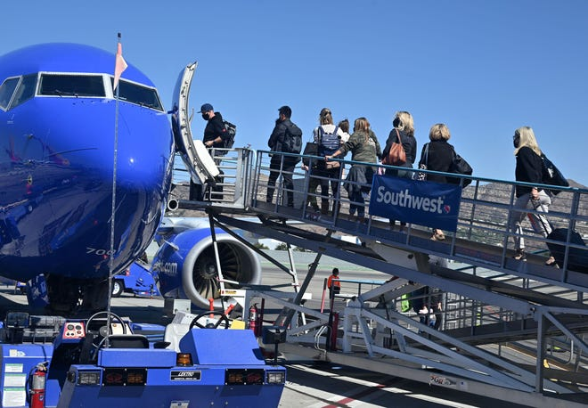 """""""I'msorry for the struggles that you and our customers are experiencing, once again,'' Alan Kasher, Southwest Airlines' executive vice president of daily operations said of the nearly1,900flight cancellations that stranded travelers and flight crews across the country."""
