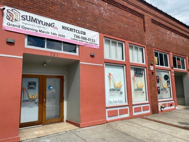 Augusta nightclub Sumyung Ho is located in the 500 block of Broad Street.