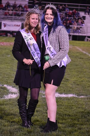 Elly Castello was crowned the 2021 Barneville High School Homecoming Queen while Breanna Meade was runner up.