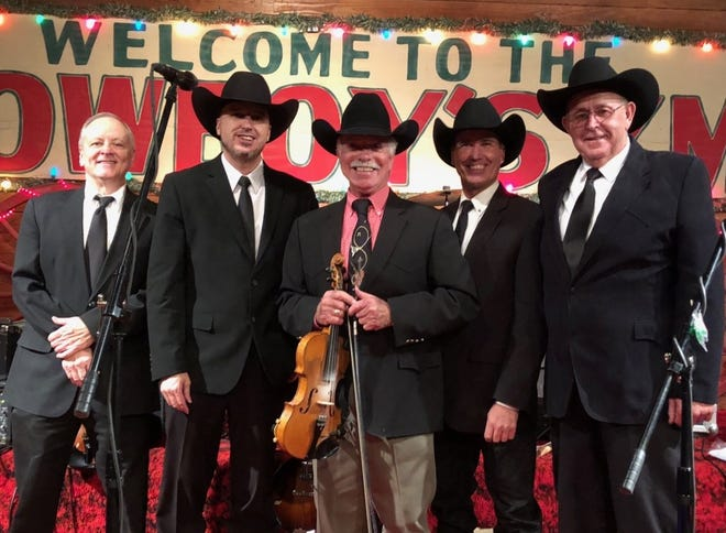 Jody Nix (center) and the Texas Cowboys will perform with the Heart of Texas All-Star Jazz Band at a concert fusing country and jazz music on Oct. 21 at HPU.