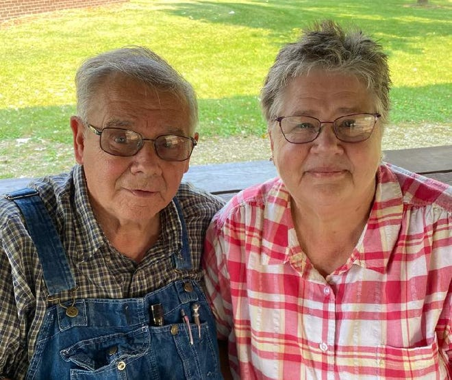 Pictured are Lee and Connie Brooks who will celebrate their 50th wedding anniversary Friday, Oct. 15.