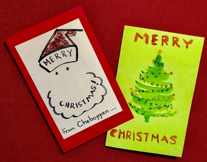 This year, the Cheboygan City Coast Guard Committee is encouraging residents of the city to donate some personalized Christmas cards to accompany the trees to Chicago, to be given to the families who receive the trees.