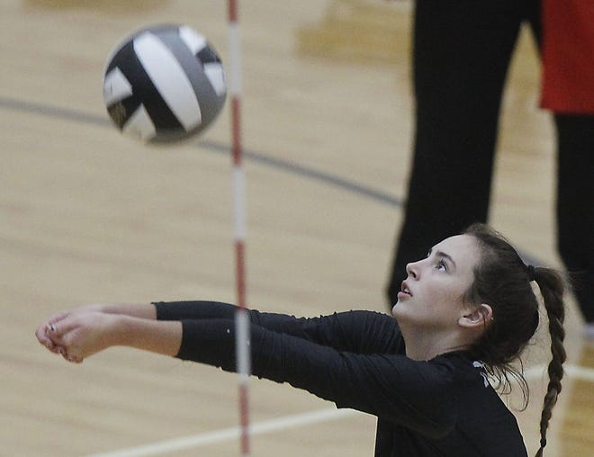 Kyleigh Bryant has enjoyed a strong junior season from North's back row. The junior had 266 digs, 25 aces and 34 assists through 19 matches.