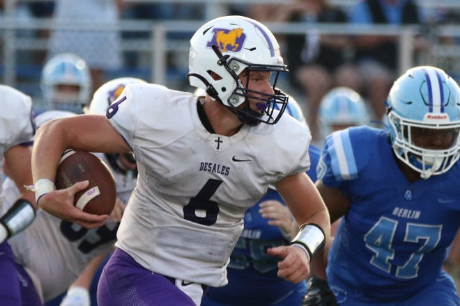 DeSales' Whit Hobgood earned our Player of the Week honor for Week 8, based on a staff vote.