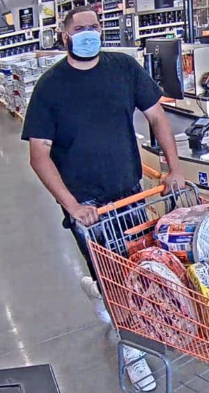 Gonzales Police released a surveillance image of the suspect.