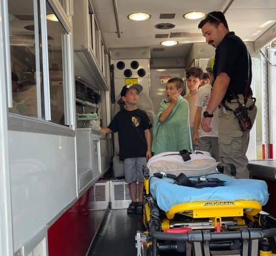 Last summer one of the highlights of the Latchkey program was a visit from Newton Fire/EMS to the all-day summer program. A change is coming to the Latchkey program in Newton schools — namely that operations will be taken under the wings of the Newton Recreation Commission.