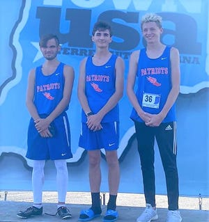 Owen Valley's Tristan Calvin, Lucas Hendershot and Tucker McCarty all qualified for the regional as individuals, finishing in the top 10 of those not advancing with a team.