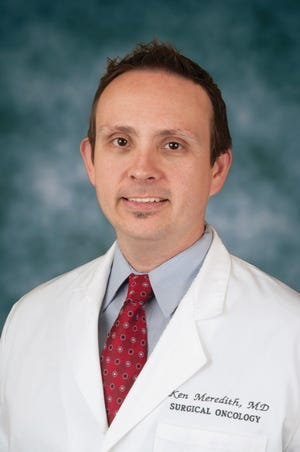 Dr. Kenneth Meredith, MD, was named Chief of Surgical Oncology at Saraosta Memorial Heath Care System.