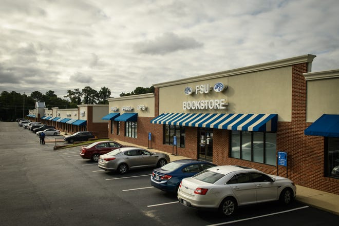 Fayetteville State University announced the purchase of the Bronco Square strip mall on Murchison Road on Tuesday, Oct. 12, 2021.