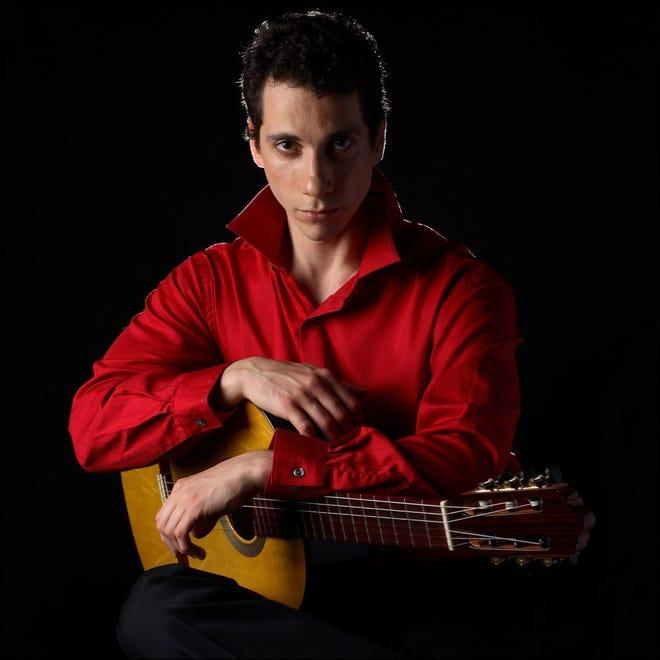 Grisha Goryachev will perform at Topsfield Town Hall Sunday, Oct. 24 at 5 p.m.