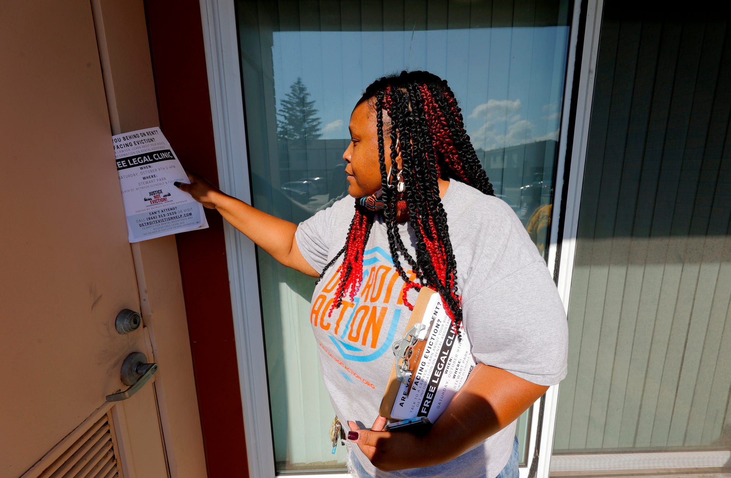 They're trying to save Detroiters from eviction before it's too late
