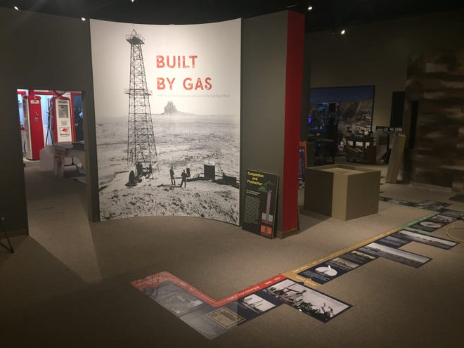 """""""Built by Gas,"""" a new exhibition coinciding with the 100th anniversary of the drilling of the first commercial gas well in the San Juan Basin, opens next week at the Farmington Museum at Gateway Park."""