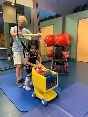 Pediatric therapy sessions are provided at United Cerebral Palsy.