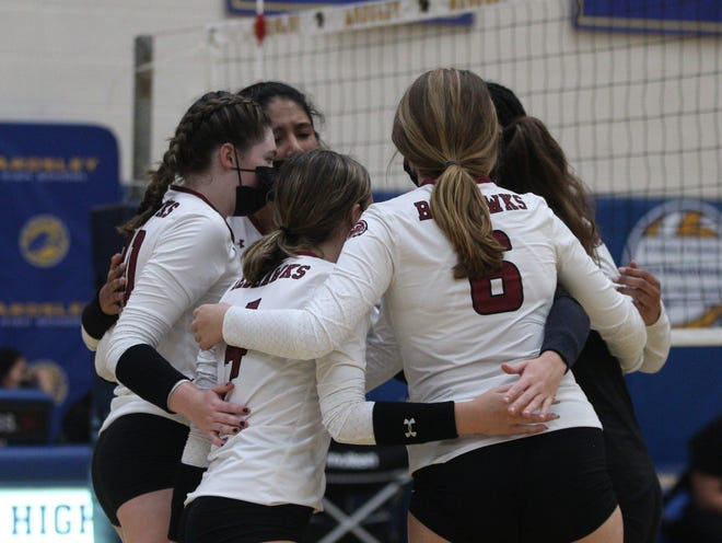 The Nyack RedHawks defeated the Ardsley Panthers, 3-0, during a match on Oct. 12, 2021.
