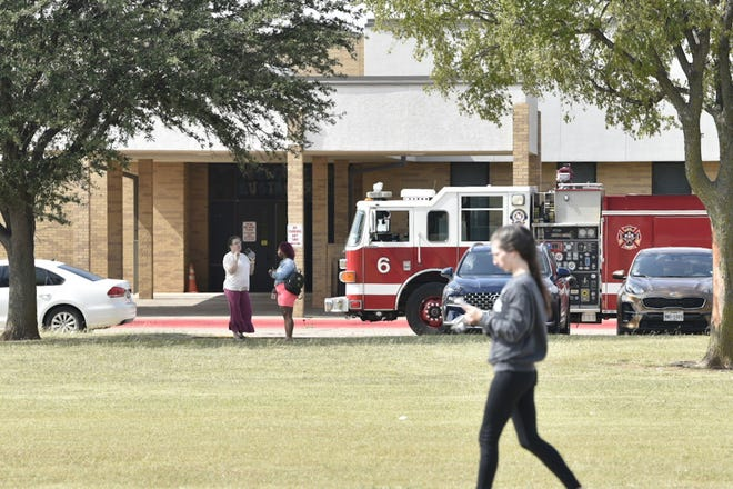 McNiel students were evacuated Tuesday afternoon after an anonymous bomb threat.