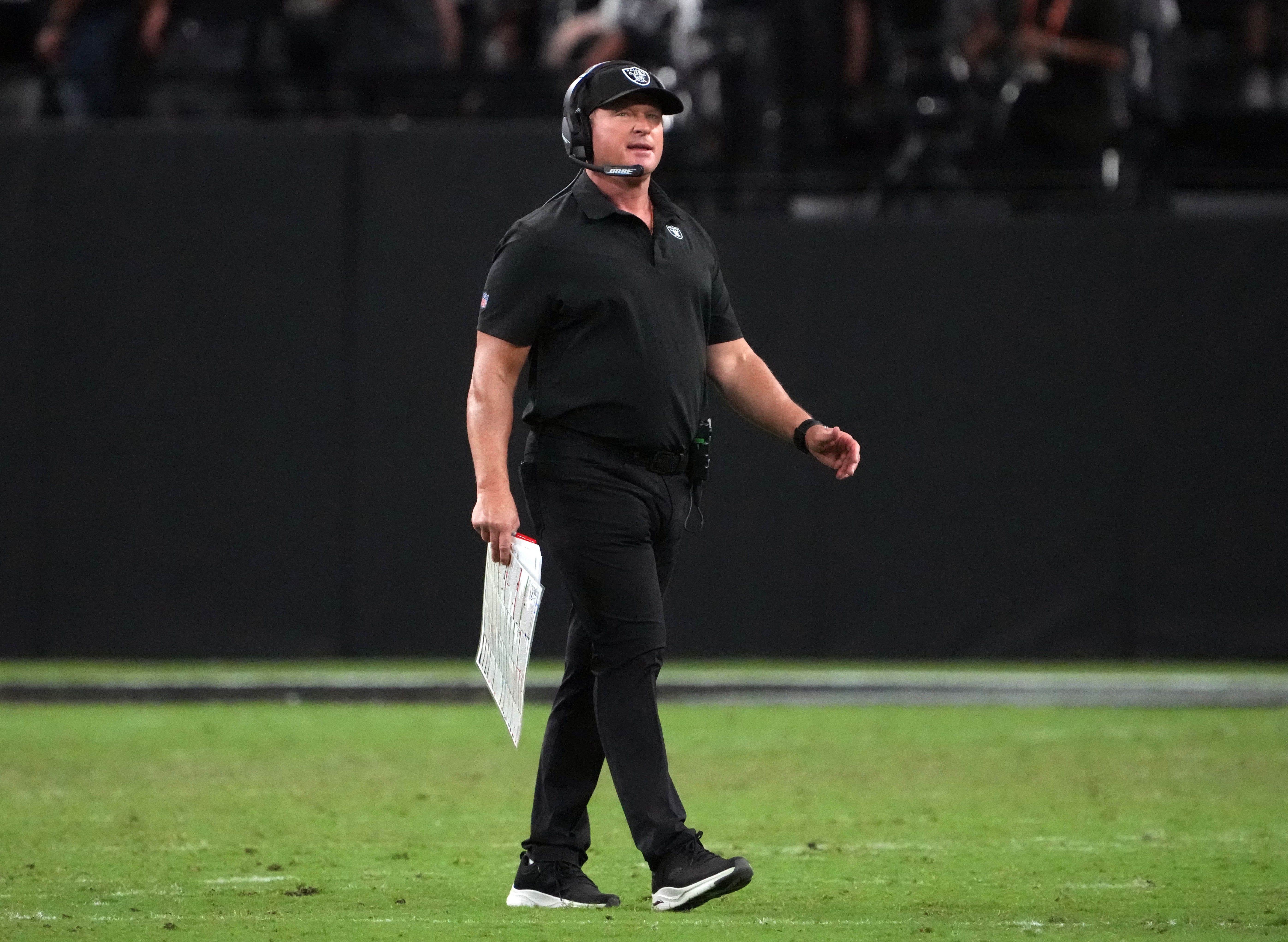 Jon Gruden, Raiders coach, resigns as homophobic, misogynistic comments are revealed in emails