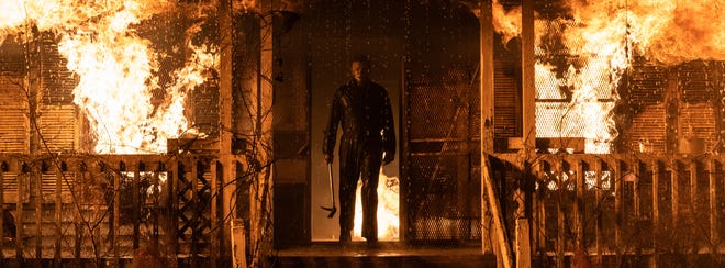 In Halloween Kills, people are on fire to shoot Michael Myers