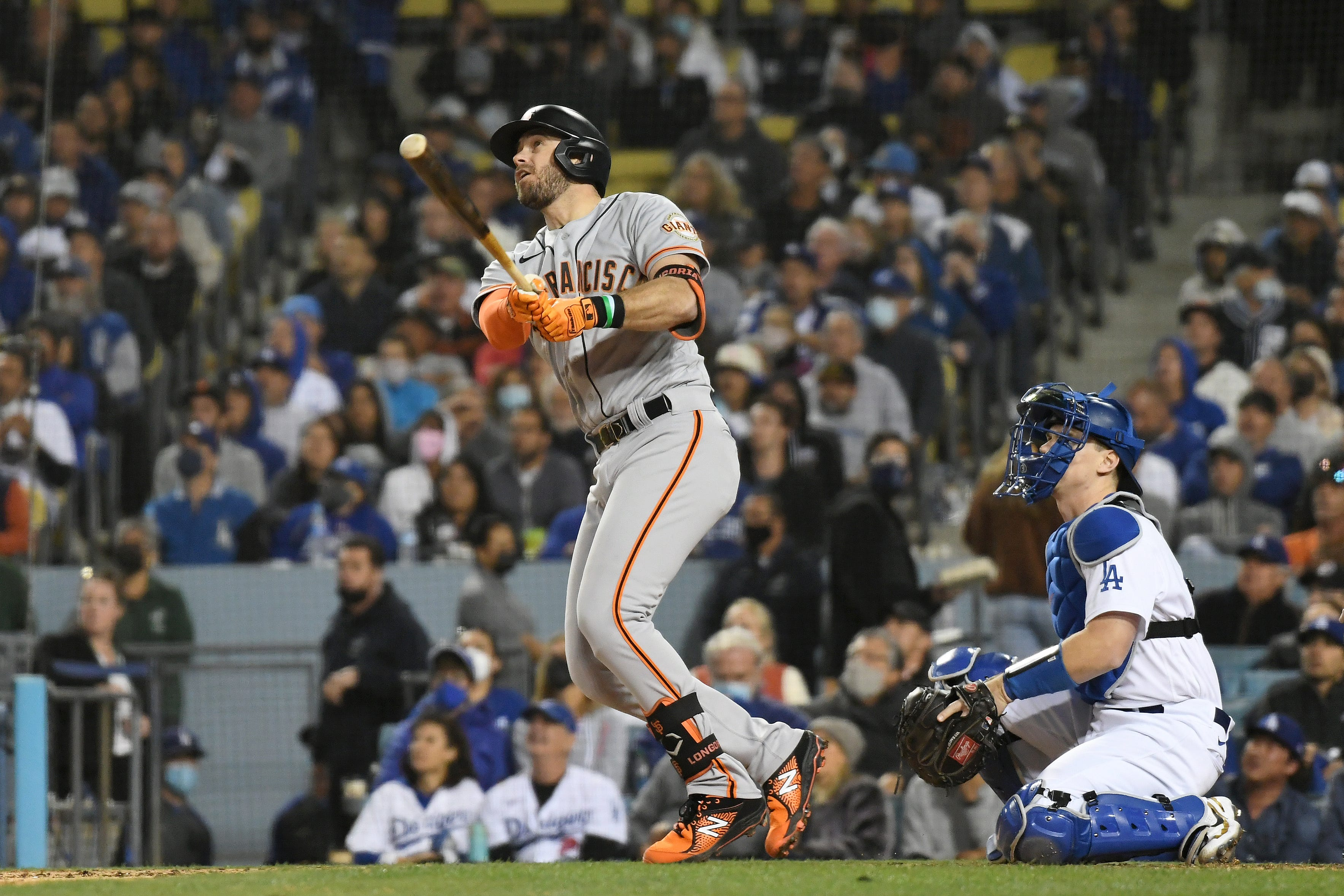 Evan Longoria s homer the difference in Giants  win over Dodgers in pivotal Game 3 of the NLDS