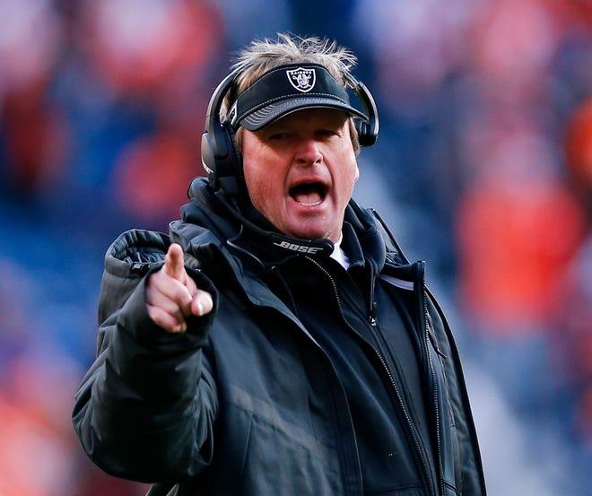 Jon Gruden đã trải qua 15 mùa giải làm huấn luyện viên trưởng NFL.