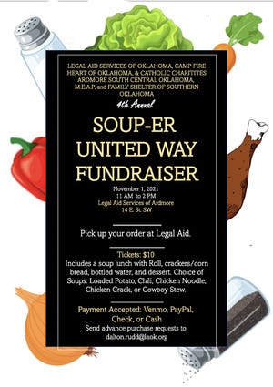 Fourth Annual United Way Souper fundraiser set for November 1