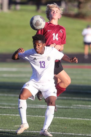 Sophomore forward Jeremiah Kanu has emerged as a key player for DeSales, which is on a 5-1-1 surge entering its regular-season finale Oct. 16 at Cincinnati Indian Hill.