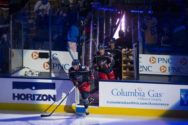 """Despite a young, revamped roster, the Blue Jackets say they are confident heading into the season. """"We think we can win and do some big things this year,"""" said defenseman Zach Werenski."""