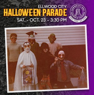 The Ellwood City Halloween Parade will take place at 3:30 p.m. Oct. 23 along Lawrence Avenue in the borough.