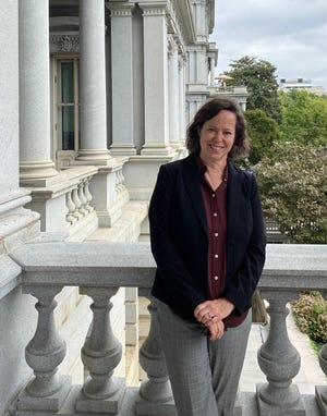 Galesburg native Laura Tiehen recently was named to a one-year position as a senior economist with the White House Council of Economic Advisers. She works out of the Eisenhower Executive Office Building, just west of the West Wing of the White House.