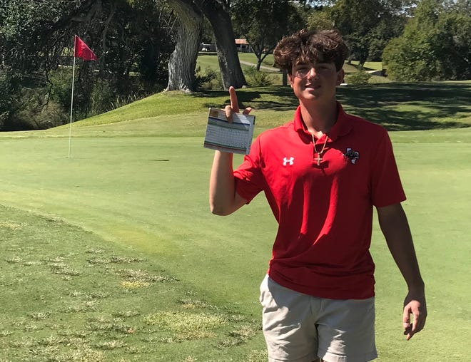 Glen Rose junior golfer Logan Lancaster recorded his first-ever hole-in-one at the Lampasas Invitational last weekend. Lancaster aced the 125-yard eighth hole using a gap wedge. He ended up shooting 206 in the two-day tournament. Ethan Howard shot rounds of 88 and 78 to lead the Tigers, who finished with a team total 727. Kylie Frush was the only Lady Tiger to play both days, and she finished with rounds of 93-92.