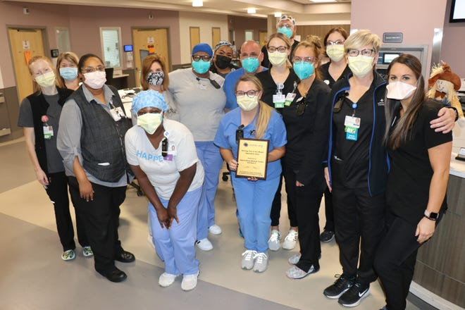 Spartanburg Medical Center's Pavilion 6 nurses receive national recognition from Nurse.org.