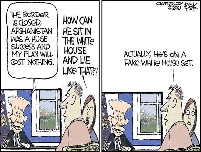 Today's editorial cartoon (Oct. 14 2021)