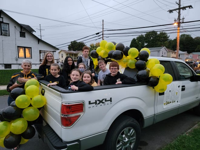 Keyser Middle School's Builders Club participated in the Keyser High School Homecoming parade Oct. 6.
