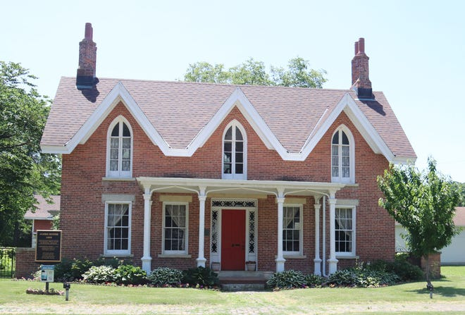 The Jones House, at 314 E. Madison St., is one of three historical homes in Pontiac open Saturday for touring.