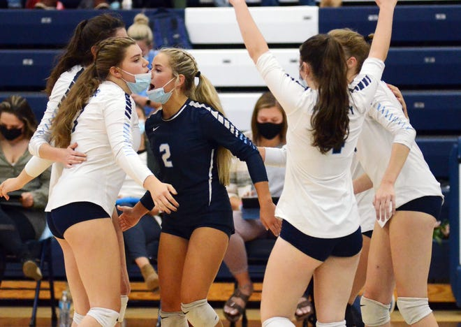 Petoskey volleyball finally had its complete lineup back in recent matches and a handful of wins followed.
