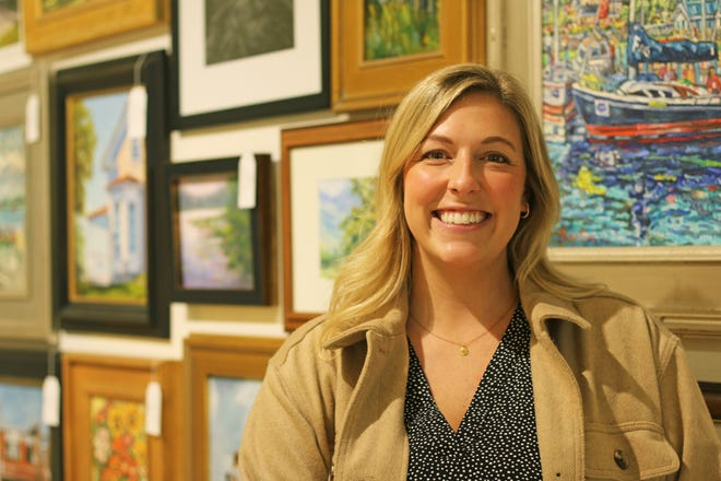 Crooked Tree Arts Center's newest employee and events coordinator Andi Symonds.