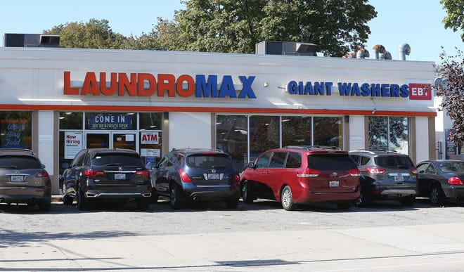 Laundromax at 1315 Broad St. in Providence, where a fatal shooting took place Tuesday during a robbery.