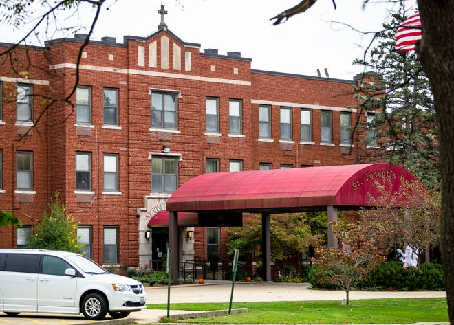 St. Joseph's Home of Springfield, a Catholic nursing care facility for men and women, announced that it would close Dec.15. [Justin L. Fowler/The State Journal-Register]