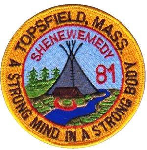 Boy Scout Troop 81 Topsfield patch.