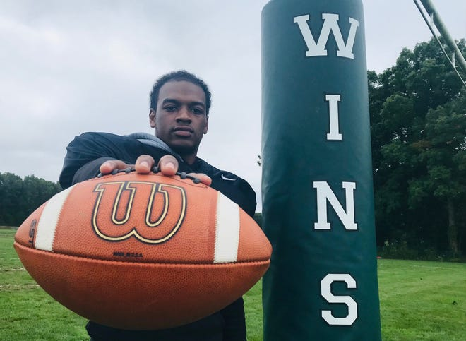 Winslow's Trey Thorpe has run for 492 yards and two touchdowns and caught 11 passes for 183 yards and two more scores this season.