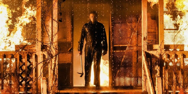 "Nick Castle plays Michael Myers in ""Halloween Kills."""