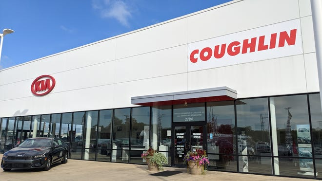 Coughlin Automotive, the largest car dealership in Licking County, recently acquired Matt Taylor Kia of Lancaster on North Columbus Street.