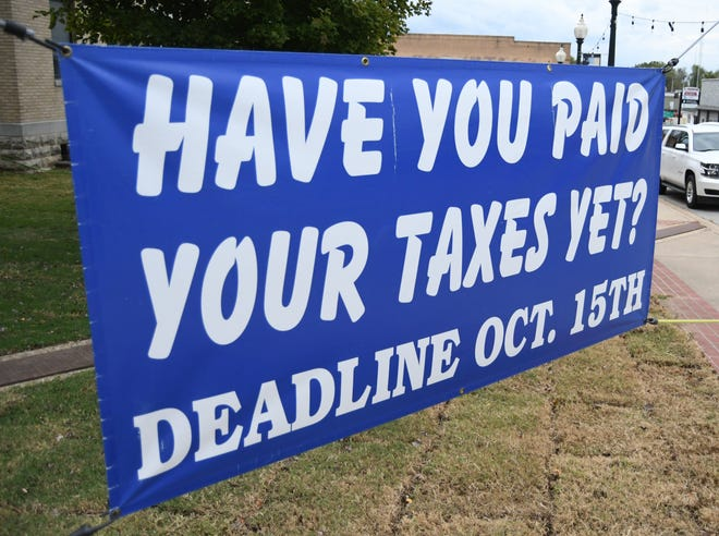 Arkansans' 2020 property taxes are due on Friday, Oct. 15. Those paying after this date will face a late payment penalty.