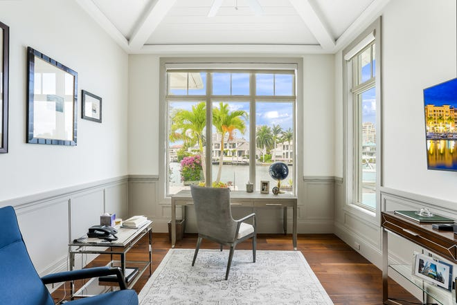 Functional home offices with stylish spaces create productive havens.