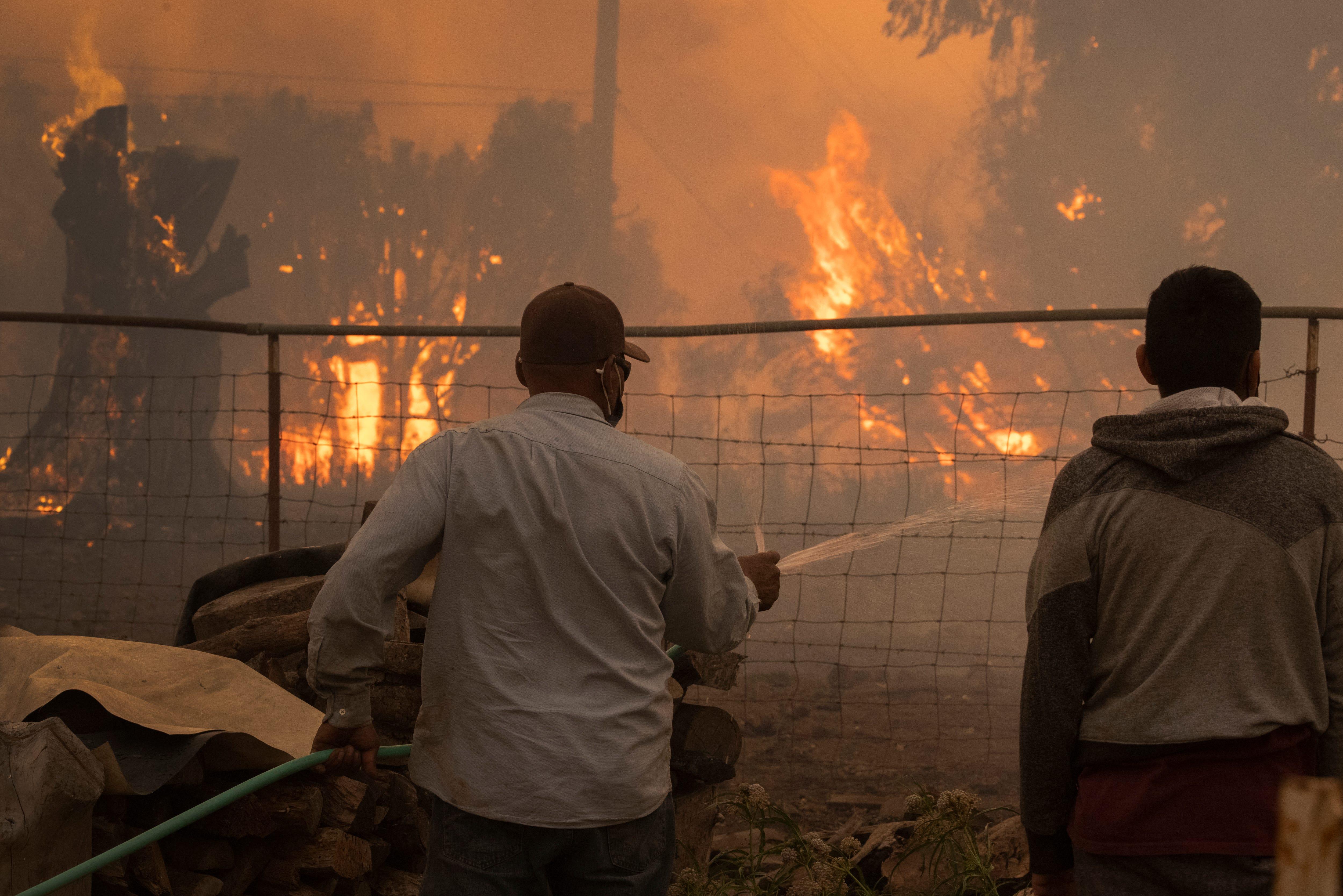 Alisal wildfire forces evacuations in Santa Barbara County, California