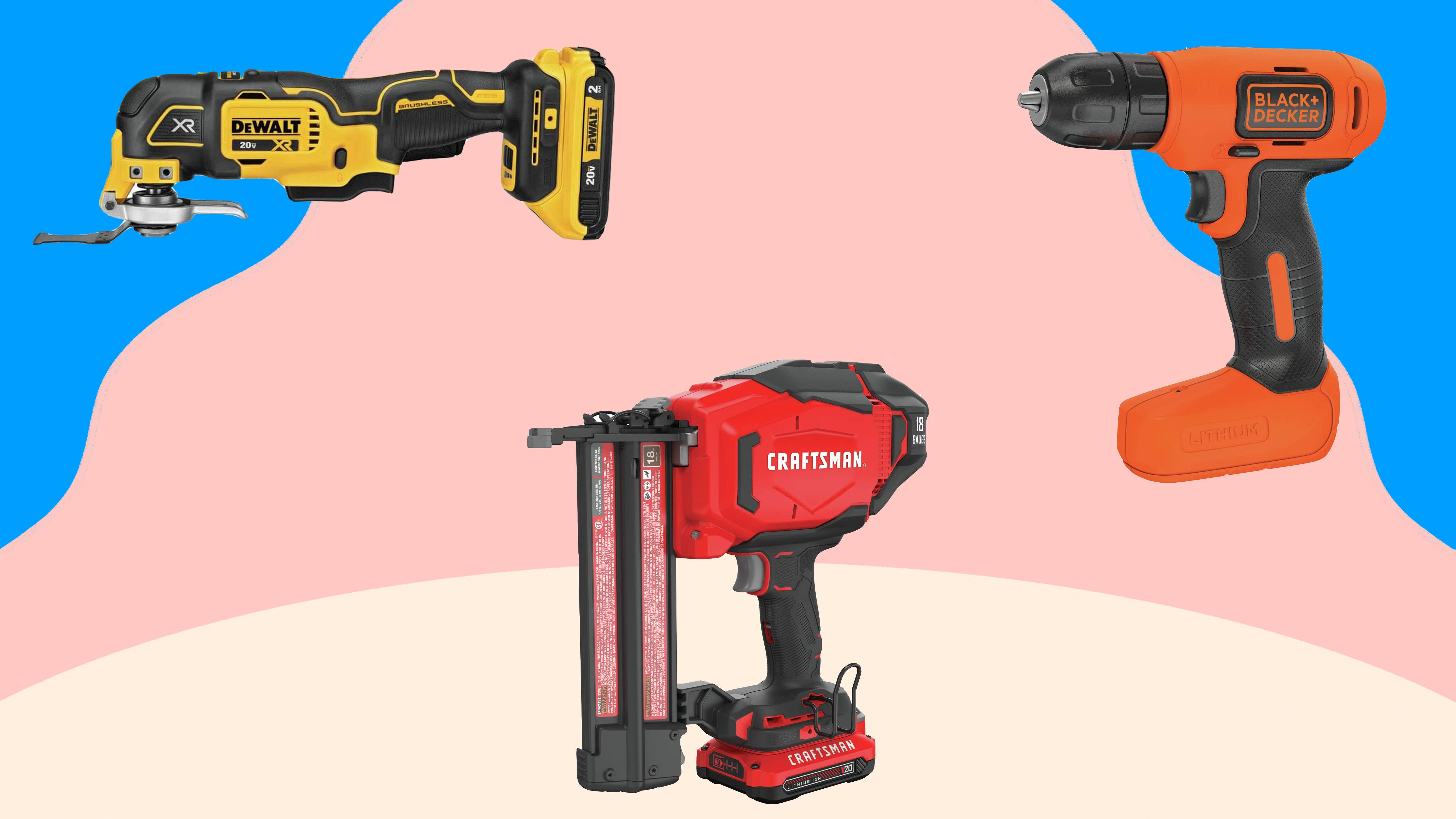 Shop Amazon savings on tools from Black and Decker, Craftsman and more