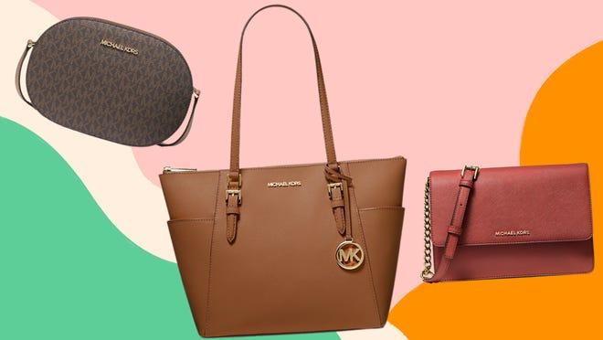 Shop discounted handbags, satchels, and cross-body bags at Michael Kors.